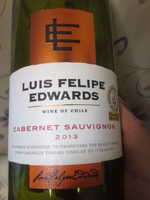 LUIS FELIPE EDWARDS CABERNET SAUVIGNON2013(ルイスフェリペエドワーズ カベルネソーヴィニヨン)