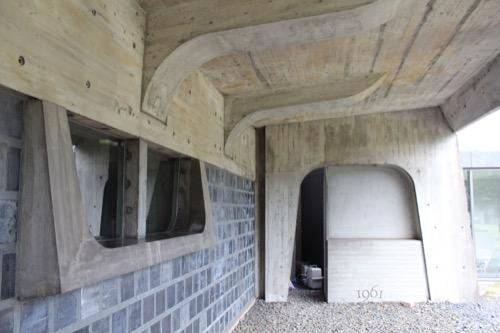 0063:大原美術館 造形性溢れる分館入口まわり