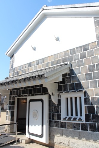 0063:大原美術館 妻入りの蔵造りが印象的な工芸館・東洋館出口