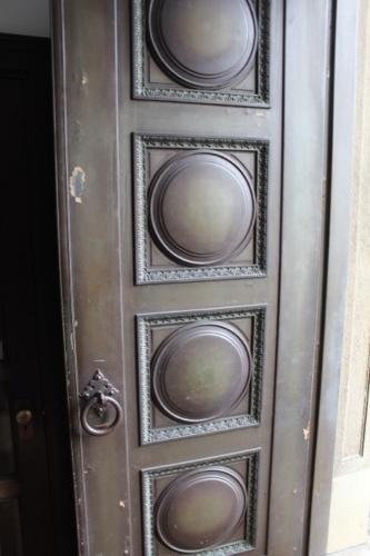 0063:大原美術館 格式高そうな本館入口扉