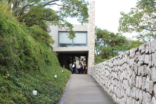 0067:ベネッセハウス 「ミュージアム」入口