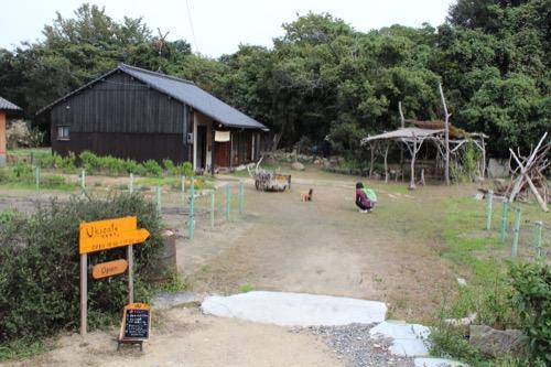 0074:犬島家プロジェクト 庭のある『Uki Cafe』