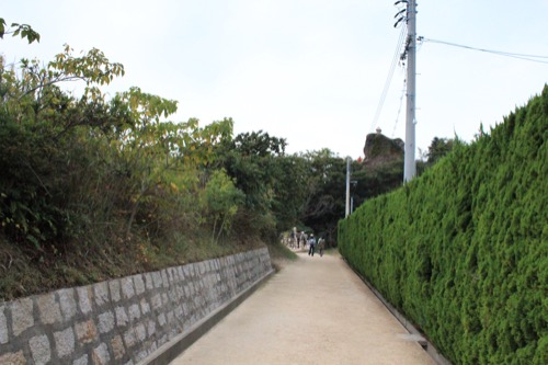 0074:犬島家プロジェクト F邸までの道のり