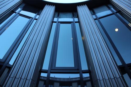 0075:渋谷区立松濤美術館 中庭の様子②