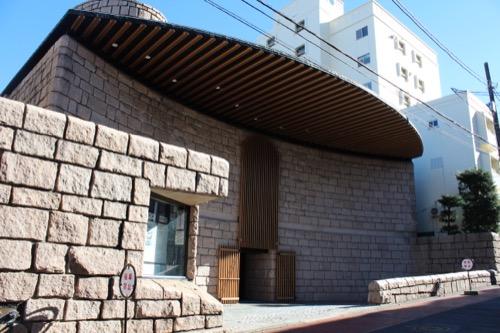 0075:渋谷区立松濤美術館 正面外観