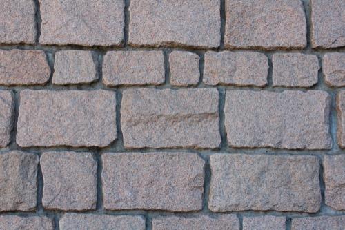 0075:渋谷区立松濤美術館 玄関外壁の花崗岩