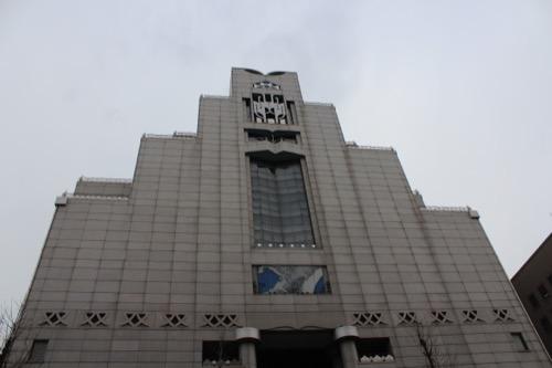 0076:千葉市美術館 正面外観
