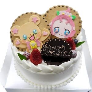プリキュアキャラデコケーキ