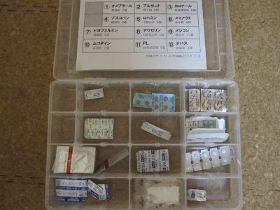 緊急用医薬品セット(中身)