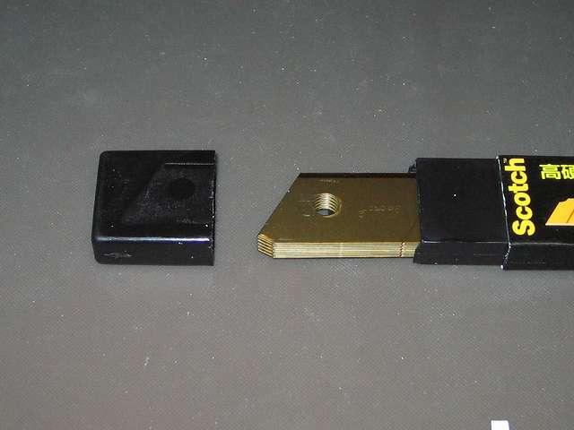 3M スコッチ チタンコートカッター 替え刃 Lサイズ 10枚 TI-CRL10 開封
