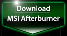 MSI Afterburne 3.0.0 ダウンロード