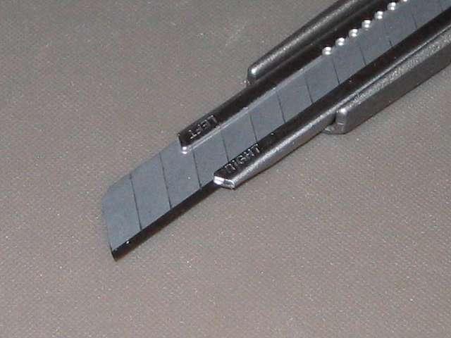 エヌティー(NT) 軽作業用カッター A-300GRP 付属刃