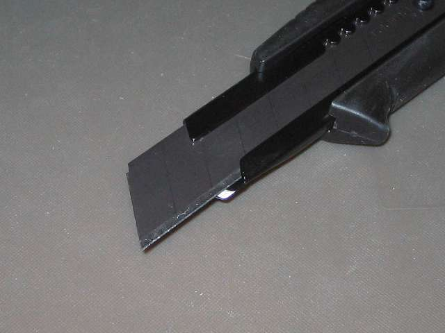 タジマ ドライバーカッター L560 オートロック 黒 DC-L560BBL 替刃大 凄刃黒
