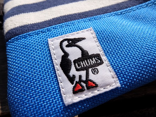 ガバッと開く!CHUMS コインケース