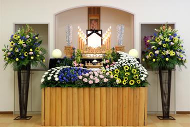 家族葬 花祭壇 豊川 花祭壇 花夢