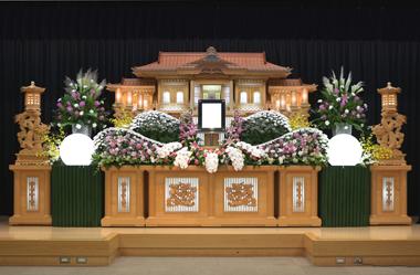家族葬 花祭壇 豊川 花屋 花夢