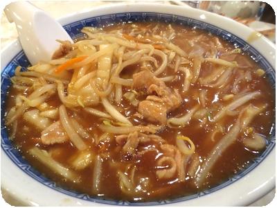野菜カレー麺