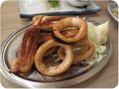 イカ生姜焼き