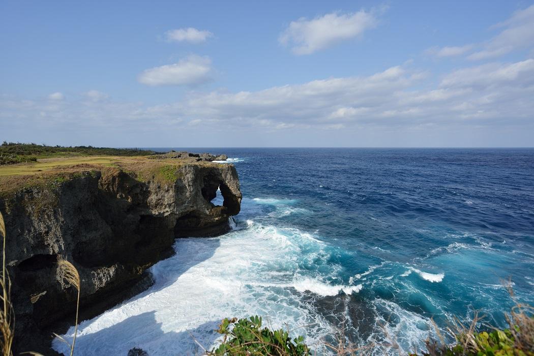 沖縄旅行記②:万座毛