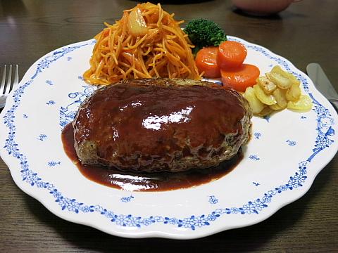 ninnikuhamburg steak1