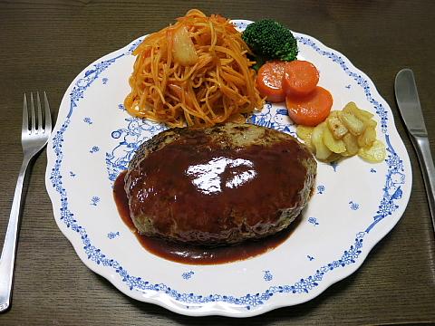 ninnikuhamburg steak4