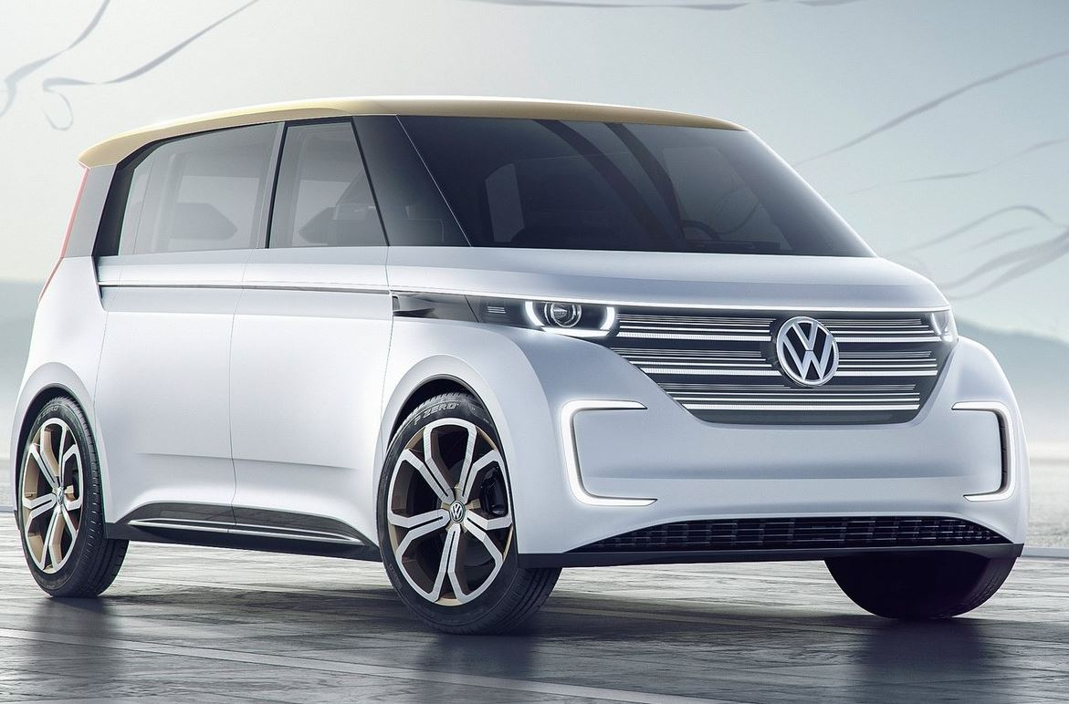 Volkswagen Budd-e Concept 00