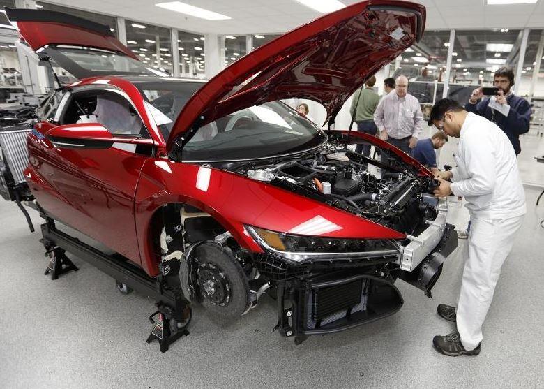 HONDA NSX production