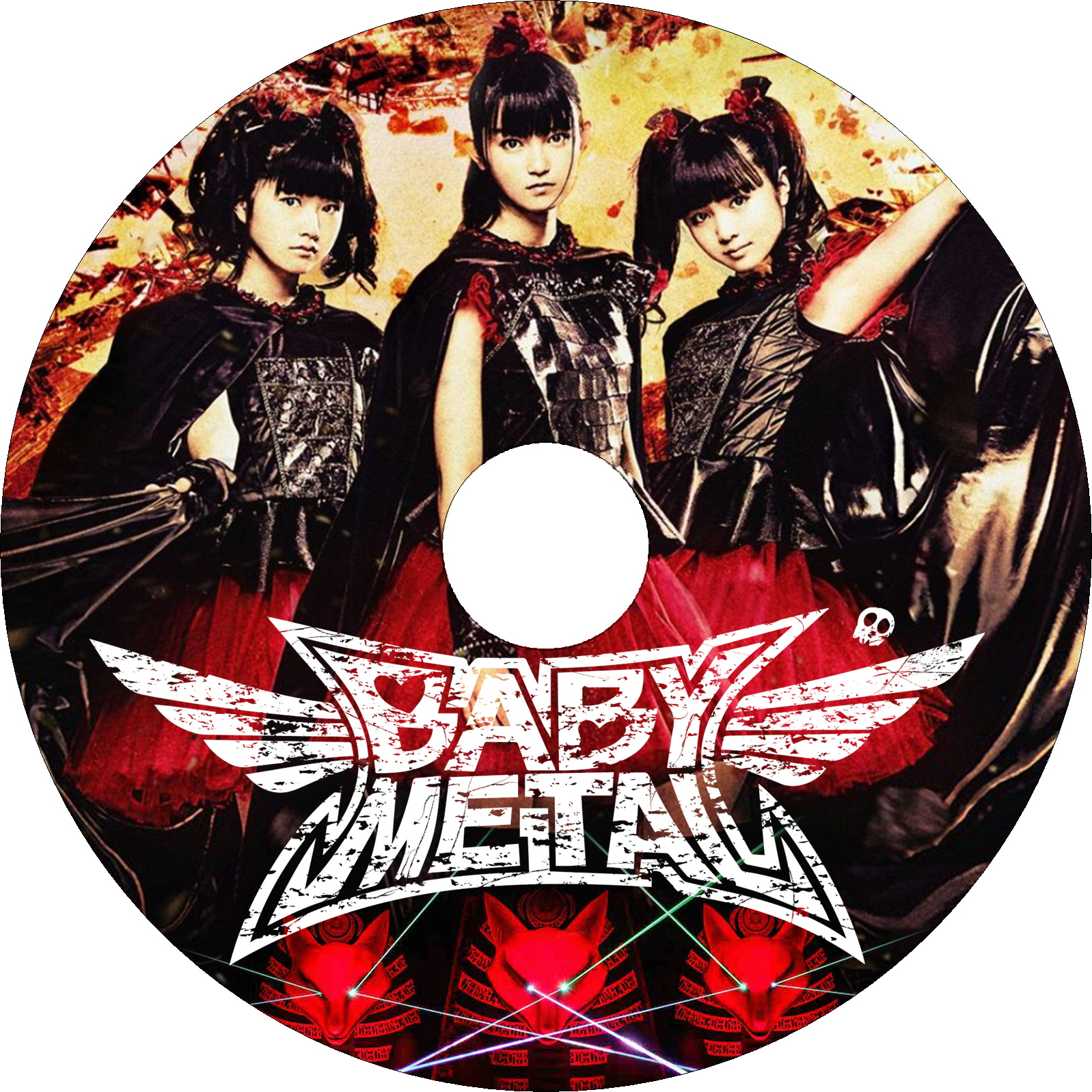 BABYMETAL WORLD TOUR 2015 in JAPAN - THE FINAL CHAPTER OF TRILOGY - ラベル
