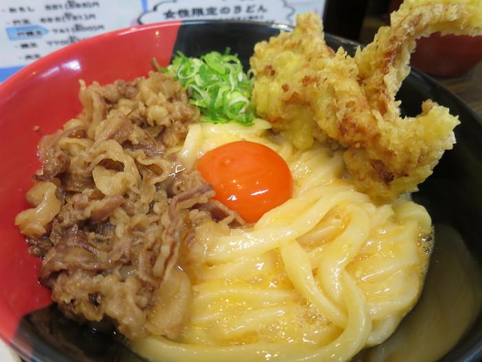 Ah-麺 肉釜玉うどん (寺田町)