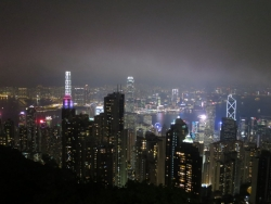 ビクトリア・ピーク 香港 夜景