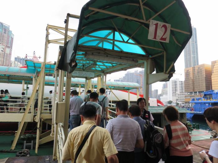 香港 マカオ フェリー 移動手段 TURBOJET