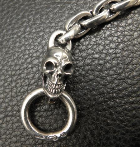 Silver,Bracelet,Skull,SmallOval,Gaboratory,Gabor