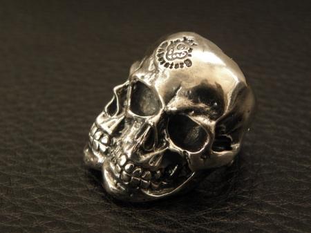 Silver,Ring,LargeSkull,SLASH,Gaboratory,Gabor