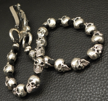Silver,WalletChain,Skull,Gaboratory,Gabor