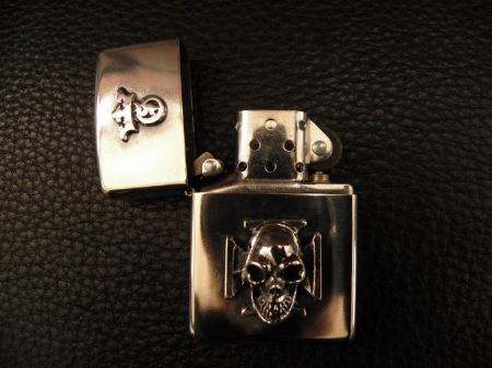 Zippo,Silver,Lighter,Gaboratory