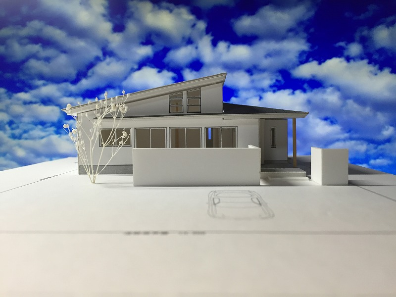 赤坂町の平屋 模型-1-s