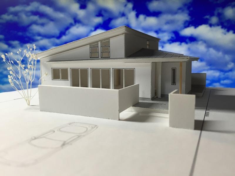 赤坂町の平屋 模型-2-s