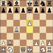 6手目にしてブランダー。次...Qb4+でピースダウン