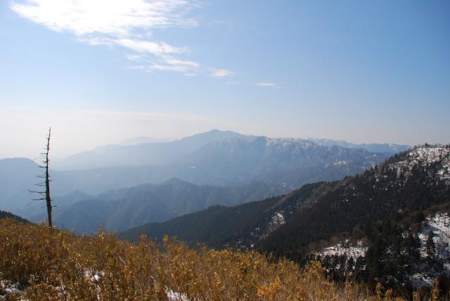 竜ヶ岳_鈴鹿山脈の眺め
