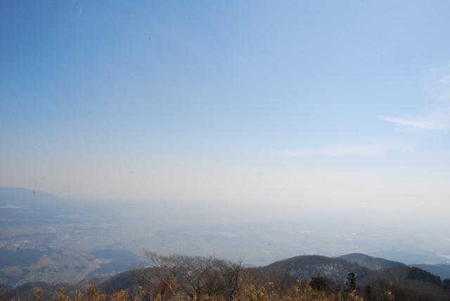竜ヶ岳_登山道からの展望_伊勢湾方面