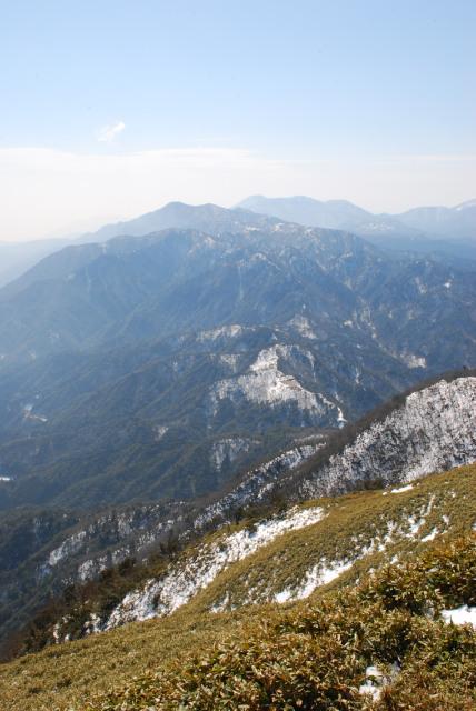 竜ヶ岳の山頂からの絶景