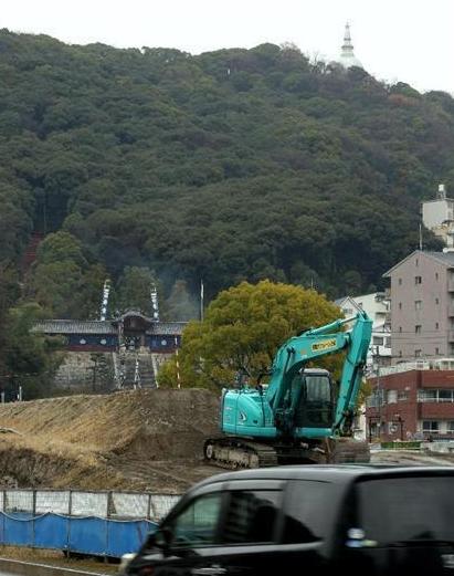 広島高速5号トンネル工事