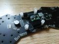ZMR250 PCBボード NAZE32コネクタ取付