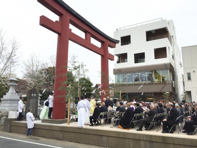 鎌倉 鶴岡八幡宮 段葛「竣功式」...