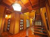 上総邸内装ホール160X160