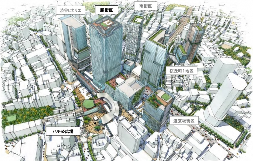 渋谷再開発201603