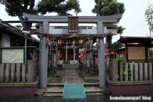 横堤八幡宮(鶴見区横堤)1