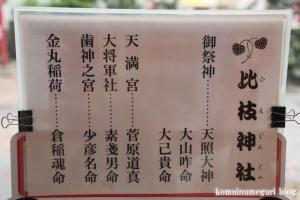 比枝神社(鶴見区今津中)21