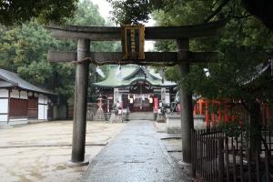阿遅速雄神社(鶴見区放出)3