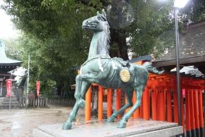 阿遅速雄神社(鶴見区放出)7
